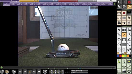 Custom Putter Fitting Analysis - Lie
