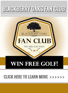 Chad Johansen Golf academy - Win Free Golf at Blackberry Oaks Golf Course!