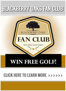 Chad Johansen Golf academy - Win Free Golf at Blackberry Oaks Golf Course!