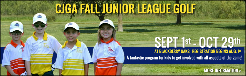 CJGA Fall Junior League Golf - Register Today!