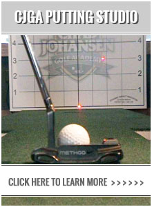 Chad Johansen Golf Academy - Putting Studio