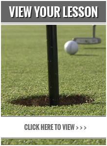 Chad Johansen Golf Academy - View Your Lesson Online