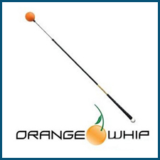 Chad Johansen Golf Academy Technology - Orange Whip Swing Trainer