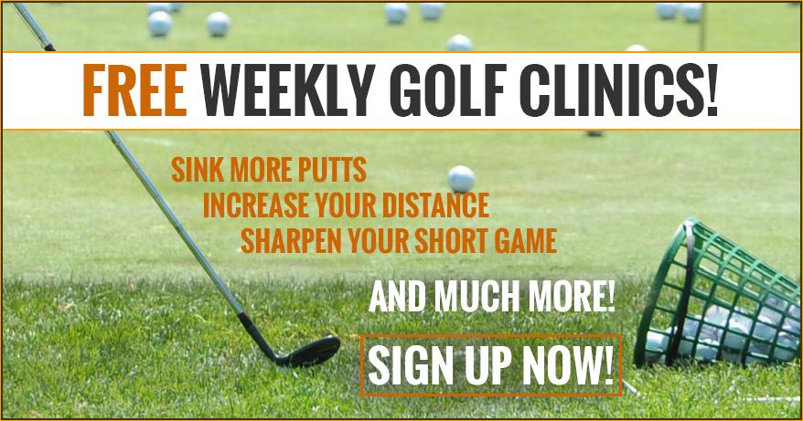 FREE Weekly Golf Clinics - Chad Johansen Golf Academy