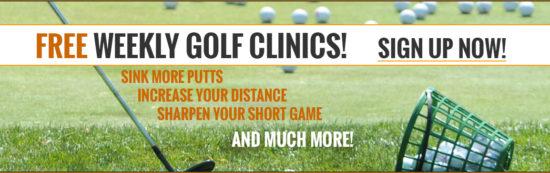CJGA FREE Weekly Golf Clinics