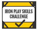Golf Simulator - Iron Play Skills Challenge
