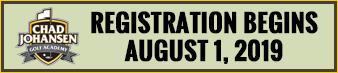Chad Johansen Golf Academy - Summer Junior League Registration