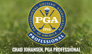 Chad Johansen, PGA Professional -m Golf Lessons