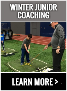 Chad Johansen Golf Academy Winter Junior Coaching Program